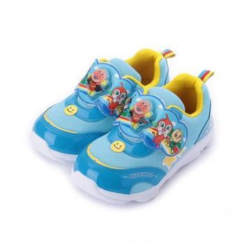 麵包超人 電燈休閒運動鞋 藍 AMKX80306 中童鞋 鞋全家福