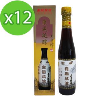 東成 白曝蔭油/醬油-大目降430ml x12罐