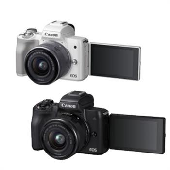 Canon EOS M50 15-45mm IS STM 變焦鏡組 (公司貨)