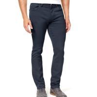 Tommy Hilfiger 2018男時尚經典款彈性深藍色直腿牛仔褲