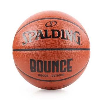 SPALDING BOUNCE 籃球-PU-7號球 訓練 斯伯丁 室內球 室外球