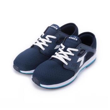 DIADORA DA5386休閒運動鞋 藍 DA5386 女鞋 鞋全家福