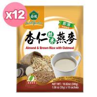 薌園  杏仁糙米燕麥( 30g X 10 入) x 12袋