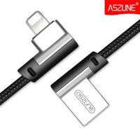 L型雙彎頭創新設計 原裝ASZUNE APPLE Lightning 接頭 傳輸線 充電線 適用手機 平板 加長款168公分