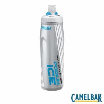CAMELBAK PODIUM ICE 620ML酷冰保冷噴射水瓶(沁藍)