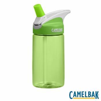 CAMELBAK EDDY 400ML兒童吸管水瓶BPAFREE(草綠)