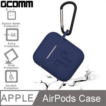 GCOMM Apple AirPods 藍芽耳機增厚保護套 藏青藍