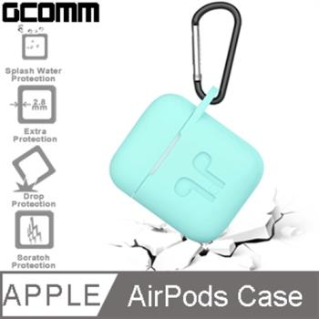 GCOMM Apple AirPods 藍芽耳機增厚保護套 薄荷綠