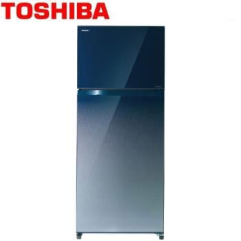 TOSHIBA東芝468公升變頻冰箱GR-HG52TDZ(GG)漸層藍+含基本安裝