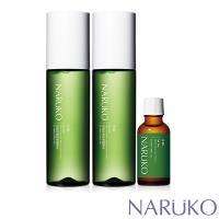 NARUKO牛爾 沁涼控油抗痘組 (茶樹抗痘粉刺調理水x2+粉刺寶)