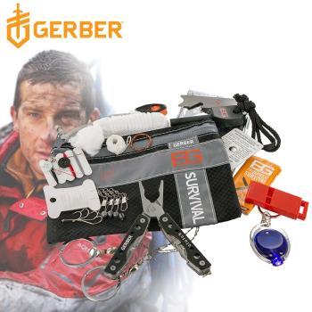 Gerber 貝爾求生系列 戶外野營急難工具包十六件套組