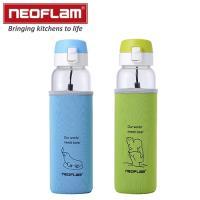 韓國NEOFLAM 耐熱玻璃水壺彈跳款 2入組