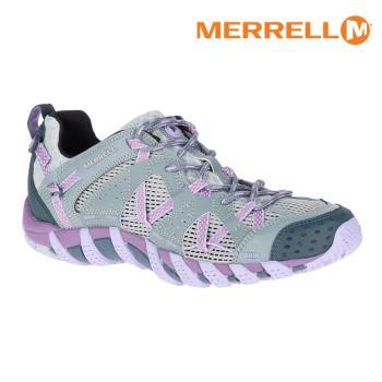 MERRELL 女 水陸兩棲運動鞋ML06102【灰/粉紫】 WATERPRO MAIPO  / 城市綠洲