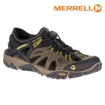 MERRELL 男 水陸兩棲運動鞋ML37691【深橄欖綠】ALL OUT BLAZE SIEVE / 城市綠洲