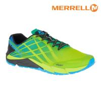 MERRELL 男 BARE ACCESS FLEX輕量赤足跑鞋ML12553【螢光綠/藍】 / 城市綠洲