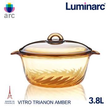 Luminarc法國樂美雅 Trianon 3.8L微晶透明鍋