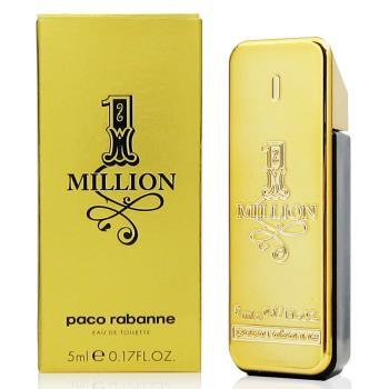 Paco Rabanne One Million 百萬男性淡香水5ml(法國貨)