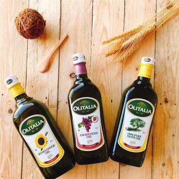 奧利塔 經典9入綜合油品組(葵花油X3+橄欖油X3+玄米油X3);1000ML/瓶