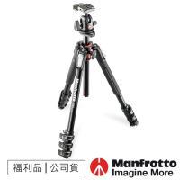 【福利品】Manfrotto曼富圖 MK190XPRO4-BH 鋁合金四節腳架-球型雲台套組 /190系列
