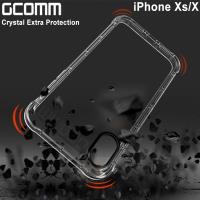 GCOMM iPhone Xs/X 增厚氣墊全方位加強保護殼 清透明 Crystal Extra Protection