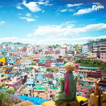 釜慶邱積木村天空步道佛國寺遊園列車纜車5日(不上攝影)旅遊