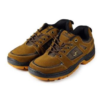 PROMARKS 反毛皮戶外運動鞋 棕 男鞋 鞋全家福