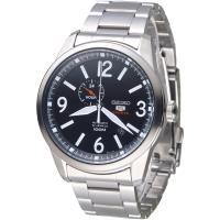 SEIKO 完美先生5號24石自動機械錶(SSA293K1)-黑