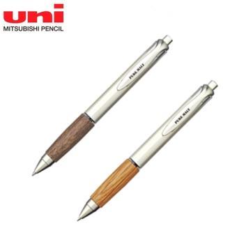 UNI中性原子筆UMN-515橡木原木筆PURE MALT樽桶0.5mm圓珠筆