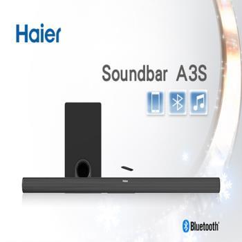 【Haier 海爾】藍牙無線揚聲器組合Soundbar+重低音揚聲器 A3S