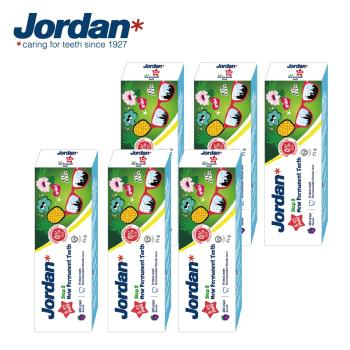 Jordan 清新水果味兒童牙膏(6-12歲)x6條