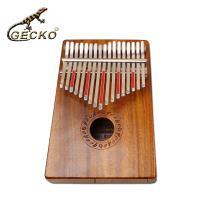 【Gecko】 K17K 相思木單板 卡林巴琴 拇指琴 (加贈台灣製琴袋)