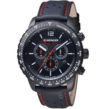 WENGER Roadster 競速方程式計時腕錶  01.0853.108