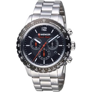 WENGER Roadster 競速方程式計時腕錶  01.0853.107