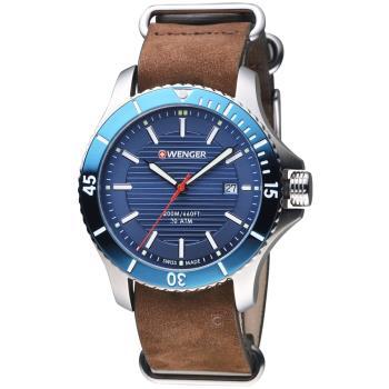 WENGER Seaforce 征服怒海潛水腕錶 01.0641.121 瑞士潛水錶