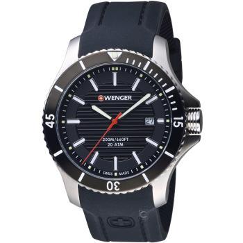 WENGER Seaforce 征服怒海潛水腕錶 01.0641.117 瑞士潛水錶