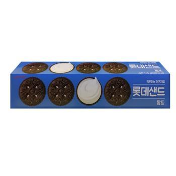 [LOTTE] 夾心餅乾巧克力口味105g*30入/組