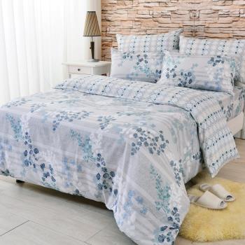 LooCa 法國GF頂級防螨四件式雙人寢具/床包1組