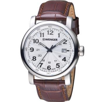 WENGER 都會系列漫步城市紳士錶 01.1041.114