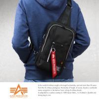 【ALPHA】日本品牌 斜背包 雙層 腳踏車包 B5 單肩後背包 IPad大小 9個口袋 F167