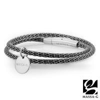 MASSA-G Titan XG2 Mini 3mm超合金鍺鈦手環(雙圈吊牌款)