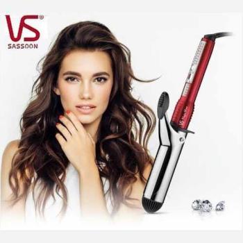 VS沙宣   38mm晶漾魔力紅鈦金捲髮棒(VSI-3831W)