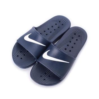 NIKE KAWA SHOWER 一體成型排水拖鞋 藍白 832528-400 男鞋 鞋全家福