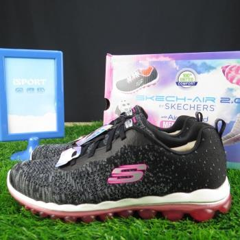 Skechers SKECH AIR 2.0 DISCOVERIES 正貨女健走鞋   iSPORT愛運動 12218BKHP