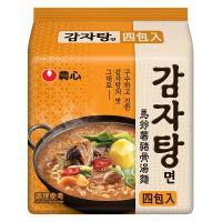 農心 馬鈴薯豬骨湯風味麵(133g×4包/4組)