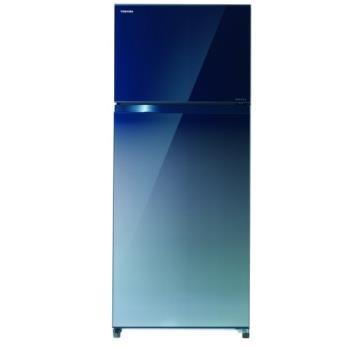 TOSHIBA東芝510公升雙門變頻冰箱無邊框玻璃 GR-AG55TDZ(GG)