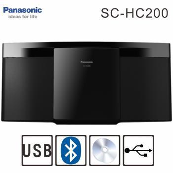 Panasonic國際牌 藍牙無線薄型組合音響(SC-HC200)