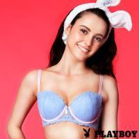 PLAYBOY 馬卡龍甜心蕾絲內衣-淡藍 (PL112808)