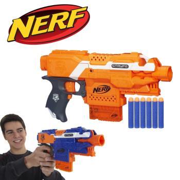 NERF-菁英系列-殲滅者自動衝鋒槍-橘紅色