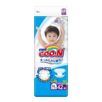 《GOO.N》日本大王紙尿褲境內版(XL42片x4包)加贈PG洗衣球*1包