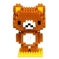 【日本KAWADA河田】Nanoblock迷你積木-拉拉熊系列-拉拉熊 NBCC-033